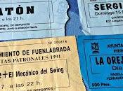 Entradas Fiestas 1991, 1993, 1996 1999