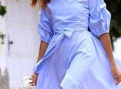 Midi Flounce Dress