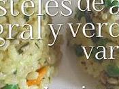 Pasteles Arroz Integral Verduras Variadas