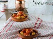 Bolas patata tomate