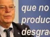 Borrell toma gilipollas
