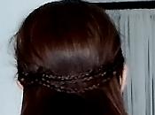 Peinado para cabello largo- Estilo trenzas