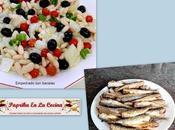Empedrat bacalao Sardinas fritas