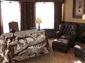 cráneo tiranosaurio mesa despacho