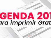 Agenda 2019 para imprimir PDF【Descargar Gratis】