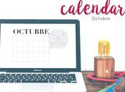 Freebie: Calendario Octubre