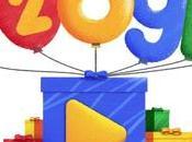 Google celebra años