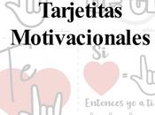 Tarjetas motivacionales
