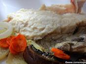 Receta fácil cabracho horno patatas verdura