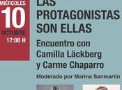Encuentro Camilla Läckberg Carme Chaparro.