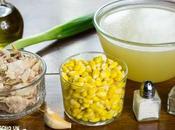 Receta sopa maíz pollo