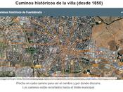 Caminos históricos villa (desde 1850)