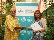 Concejalía Igualdad Educación Hospital Agustín renuevan convenio para colaborar lucha contra cáncer mama