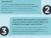 Chatbot Chocolate ECIJA elaborado 'Guía legal Chatbots:Aspectos Jurídicos mercado'