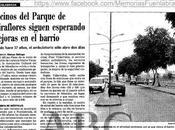 Vecinos Parque Miraflores siguen esperando mejoras barrio
