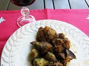 Agnello carciofi (Cordero alcachofas) Cocinas Mundo (CerdeÑa)