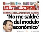 Ollanta humala promete distribuir mejor riqueza