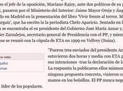 """Mariano Rajoy, embustero hilillos plastilina: nunca negoció ETA. mentira"""""""