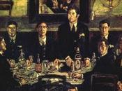 tertulia Café Pombo» desvela pintura religiosa oculta bajo lienzo