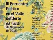 Encuentro poético Voces Extremo Jerte.