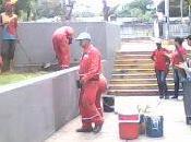 RECREO-Rescatan zonas verdes muros Estaciones Metro Colegio Ingenieros