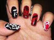 Diseño uñas para Halloween