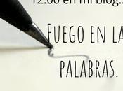 Reto #fuegoenlaspalabras: usar tres títulos libros