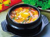 Sundubu, sopa hecha tofu