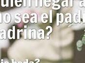 ¿Con Quién Llegar Altar Padrino Madrina?