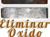 Cómo eliminar óxido metal