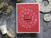 Heat Embossing Only Christmas Card