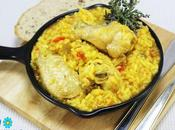 Arroz pollo curry Thermomix