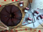 Bundt cake chocolate mermelada fresa CrockPot