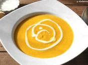 Crema zanahoria, jengibre leche coco
