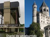 Valonia. región centro: ascensores barcos colegiata Nivelles