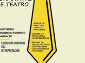 Jornadas formativas teatro, artes escénicas diversidad funcional, Manu Medina