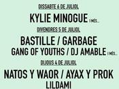 Festival Cruïlla Barcelona 2019: Kylie Minogue, Bastille, Garbage, Natos Waor, Ayax Prok...