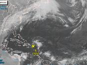 Vaguada, onda baja presión combinan sobre República Dominicana.