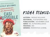 Reseña: CASI IMPOSIBLE Nicole Williams