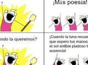 poesía, favor