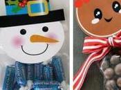 Hermosas ideas dulceros navideños bolsitas celofán