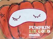 Pumpkin Mask Gold Cool School Mascarilla calabaza