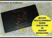 Review Paleta Sombras ojos Carmi Kiss Fire Makeup Revolution