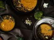 Crema brocoli batata cúrcuma jengibre {ponle color sabor otoño}