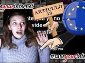 cerrar canal Youtube muchos blog, otros) Artículo nueva Europea #Saveyourinternet