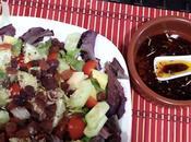 Salsa vinagreta aromatizada