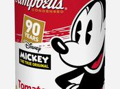 Campbell rediseña icónicas latas sopa para celebrar aniversario Mickey Mouse