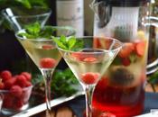 Cóctel Vino Blanco, Hibiscus Frutos Rojos