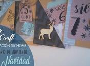 Materiales DIY: Calendario adviento actividades para aula casa