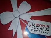 Unboxing Testabox Noviembre.